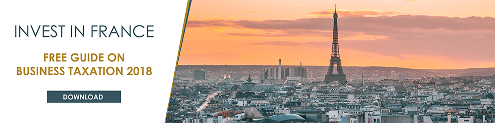 Guide on business taxation in France cover