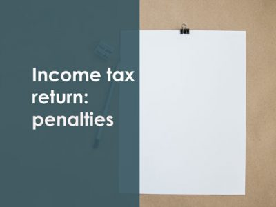 Income tax return penalties late payment france